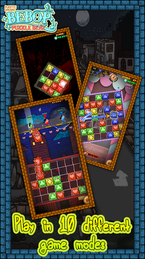 Bebop Puzzle Beat- screenshot