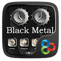 Black Metal GO Launcher Theme icon