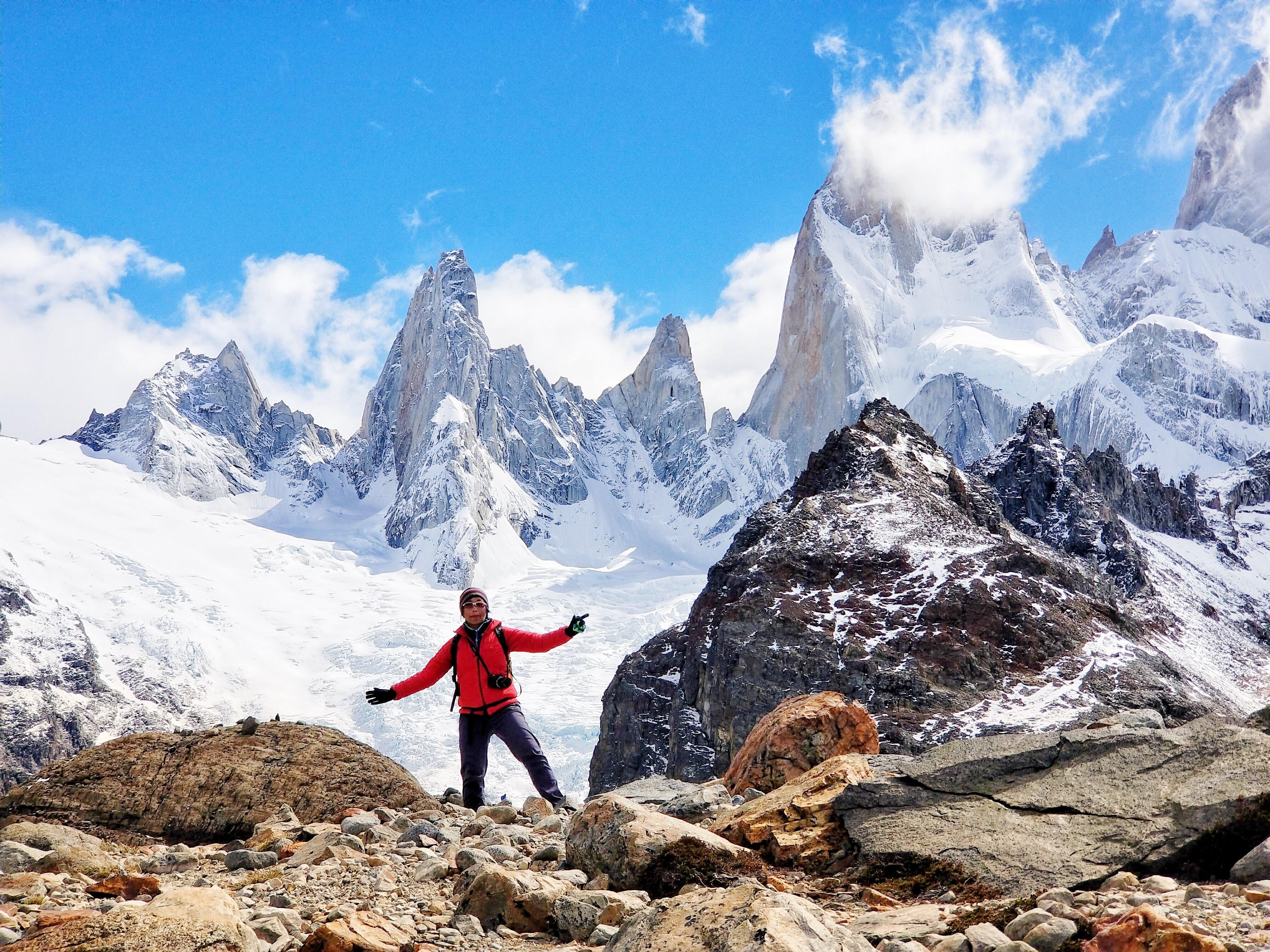 Pinch me! Gee, gaaaahhhh, I'm in Patagonia!
