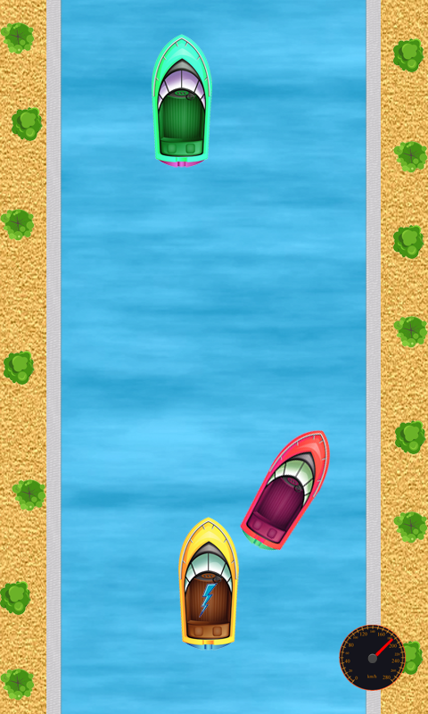 Скриншот Быстрая Моторка гонки