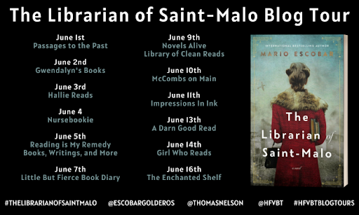 Excerpt & Giveaway: The Librarian of Saint-Malo by Mario Escobar