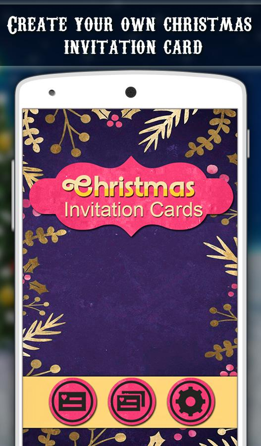 Christmas Invitation Cards Android Apps on Google Play – Invitation Cards for Christmas