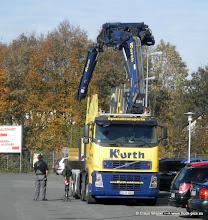 Photo: FH Kran bei Sonneborn in LÜD