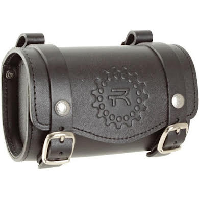 Rivet Larkspur Leather Saddlebag