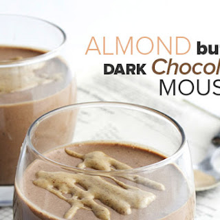 Almond Butter Dark Chocolate Mousse