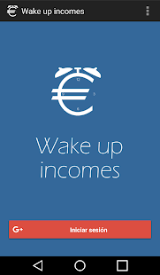 Wake up incomes: miniatura de captura de pantalla