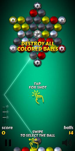 Magnet Balls Free: Match-Three Physics Puzzle 7.8.1.9 com.crazyowl.MagnetBallsFree apkmod.id 4