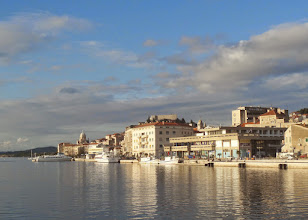 Photo: Sibenik is a lovely port lying almost in the middle of the Croatian Adriatic coast.  Croatia has 242 islands and islets.