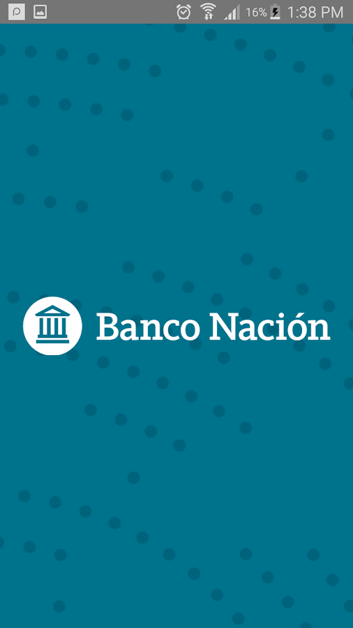 Banco Nación- screenshot