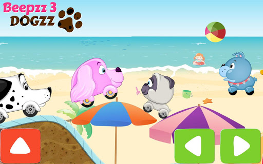 Car Racing game for Kids - Beepzz Dogs