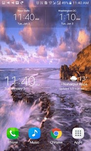 Ocean View Live Wallpaper - náhled