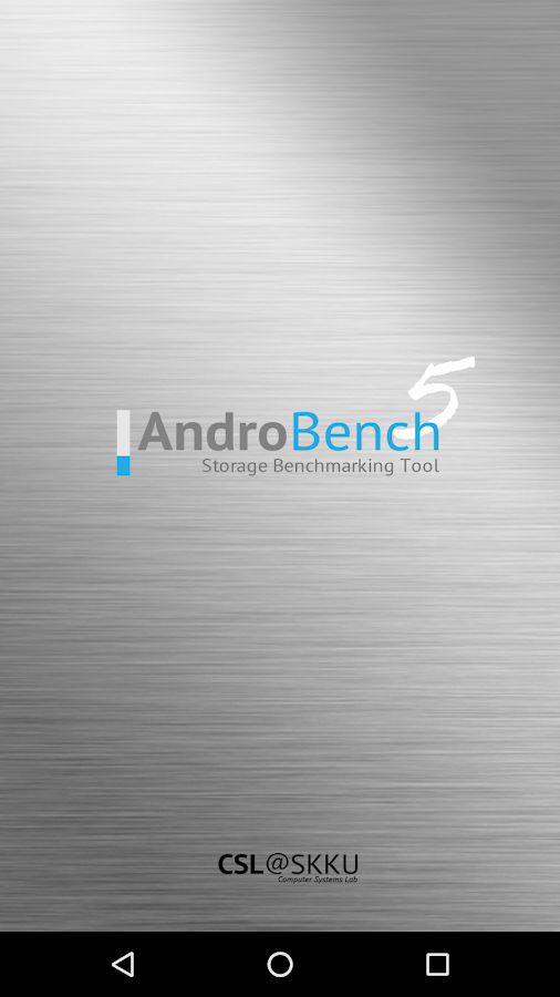 Androbench (Storage Benchmark)- screenshot