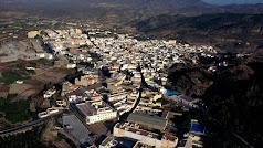 Vista panorámica del municipio e Alhama de Almería.
