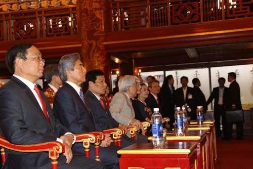 Đại Nội Huế đón Nhà vua và Hoàng hậu Nhật Bản 3