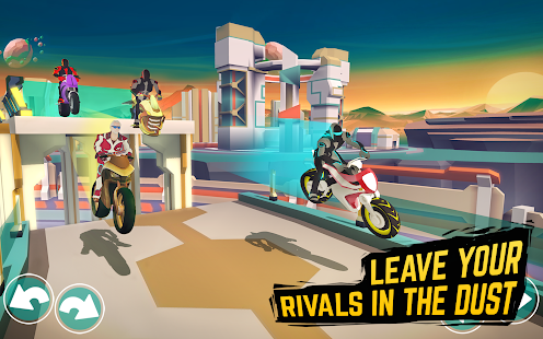 Gravity Rider: Space Bike Racing Game Online for PC-Windows 7,8,10 and Mac apk screenshot 7