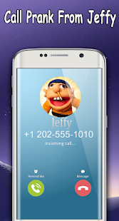 Jeffy The Puppet : Free Fake Call- screenshot thumbnail