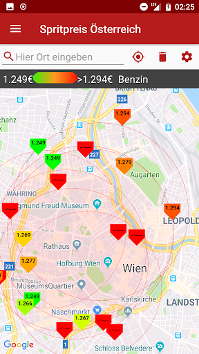 Gas Stations and prices Austria  screenshots 4