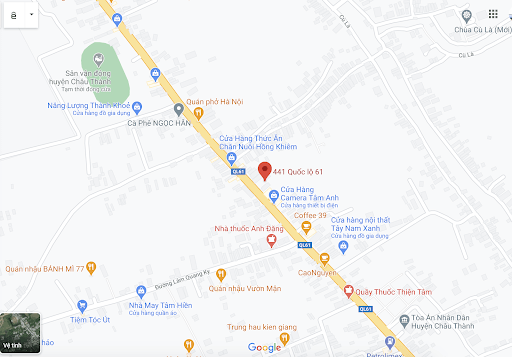 Địa chỉ văn phòng nhà xe Như Ngọc tại Kiên Giang