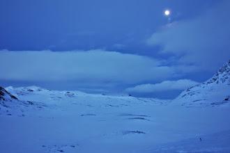 Photo: Måne over Iungsdalsvatnet