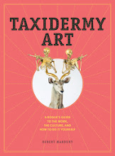 Photo: The cover of Taxidermy Art by Robert Marbury (Artisan Books). Copyright © 2014. High Res Image Author Robert Marbury is appearing at Litquake 2014 on Tuesday, October 18, 6pm at Paxton Gate