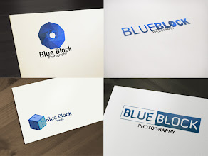 Photo: Logo Design for Blue Block Photography