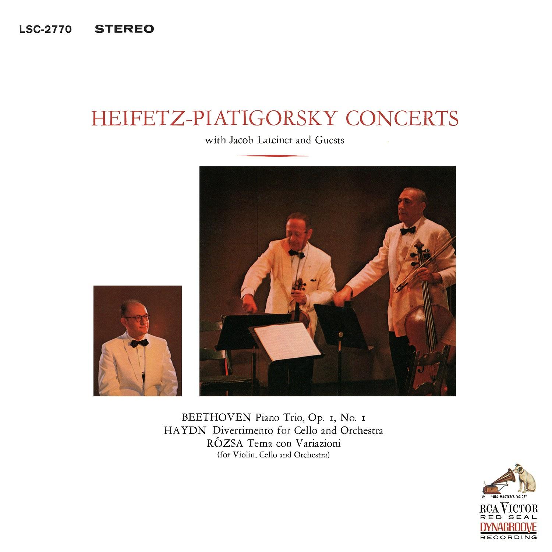 Jascha Heifetz, Gregor Piatigorsky