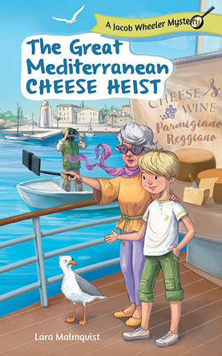 The Great Mediterranean Cheese Heist cover