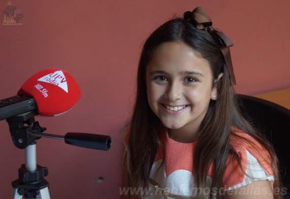Entrevistas a Candidatas infantiles a Cortes de Honor. Olivereta. #Elecció19