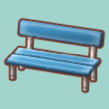 きんぞくのベンチ
