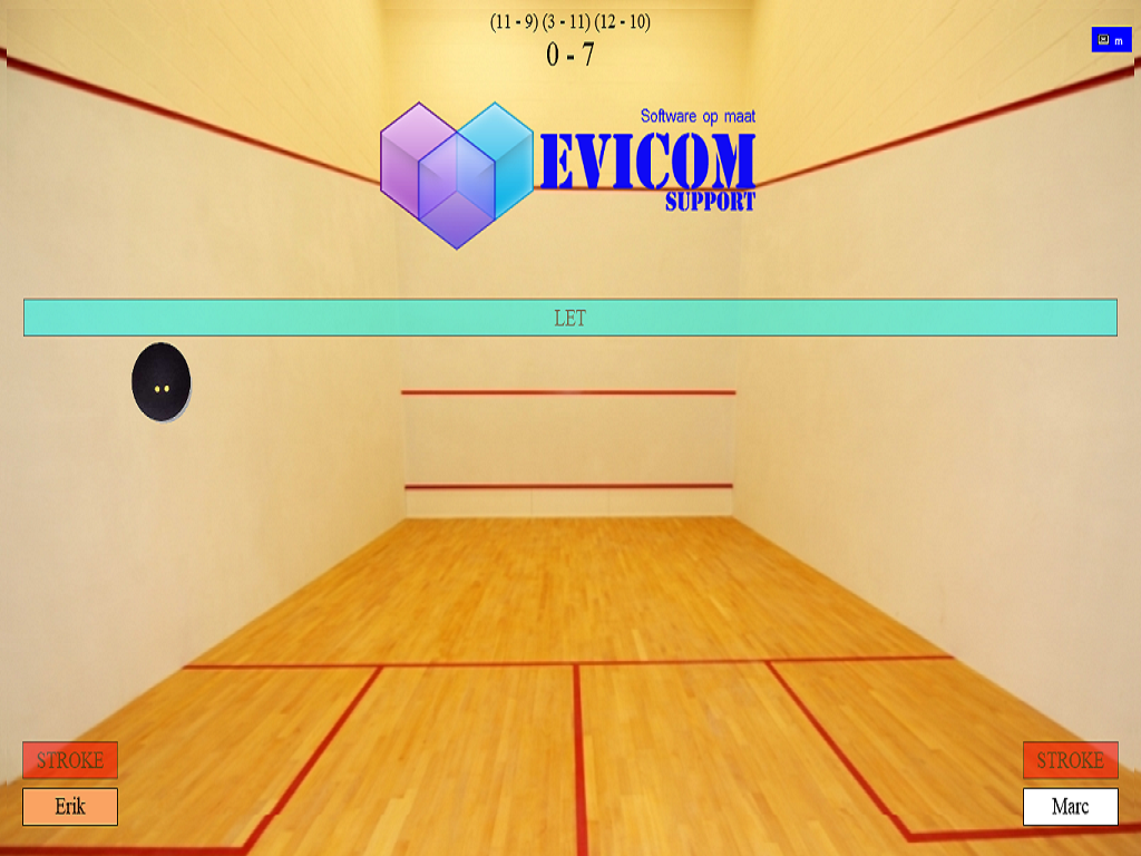 Squash Scorer- screenshot