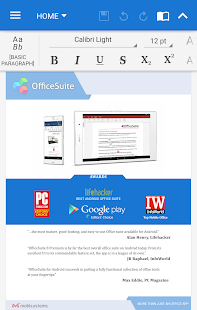 OfficeSuite Pro + PDF (Trial)- screenshot thumbnail