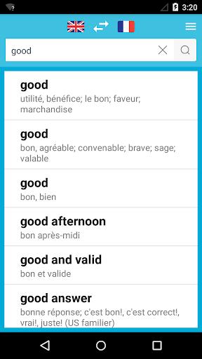 法文英文词典