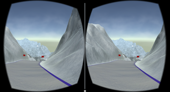 Ski Downhill VR- screenshot thumbnail
