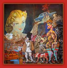 Photo: Antonio Berni La gran tentación (o La gran ilusión) 1962. 245 × 241,5 cm. Colección MALBA Fundación - Costantini, Buenos Aires. Expo: Antonio Berni. Juanito y Ramona (MALBA 2014-2015)