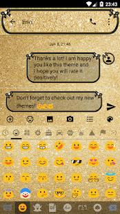 Gold Bow SMS Zprávy - náhled