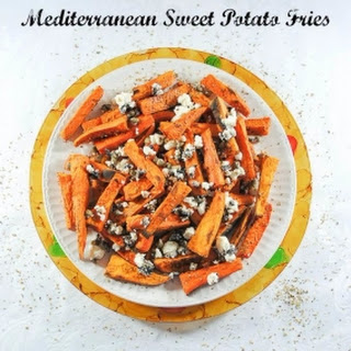 Mediterranean Sweet Potato Fries with Capers