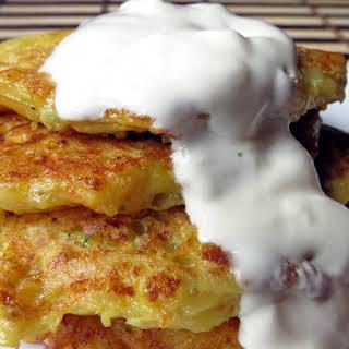 Pumpkin Potato Pancakes (Latkes).