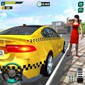 City Taxi Driver Simulator : Car Driving Games icon