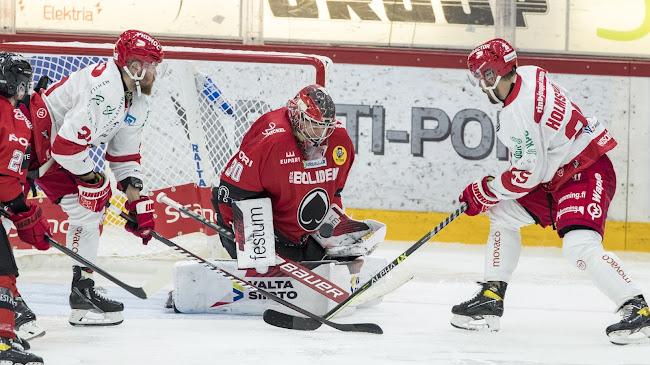 Sport aloitti kuluvan Liiga-kautensa Porissa 10.9. jolloin Ässät ottivat kotivoiton (Kuva: Liiga).