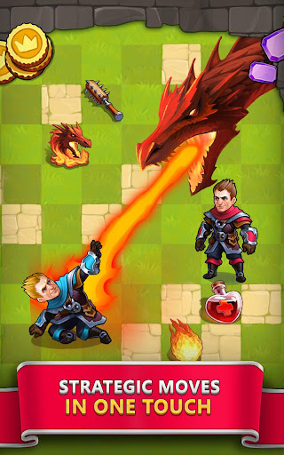 Tile Tactics: PvP Card Battle & Strategy Game screenshot 14