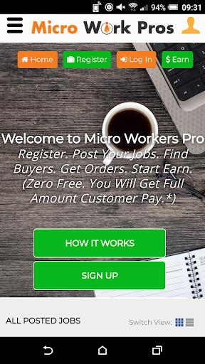 Work Online - Earn From Home - Micro Jobs 3.0.0 screenshots 1