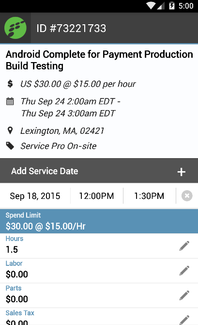 OnForce for Field Service Pros- screenshot