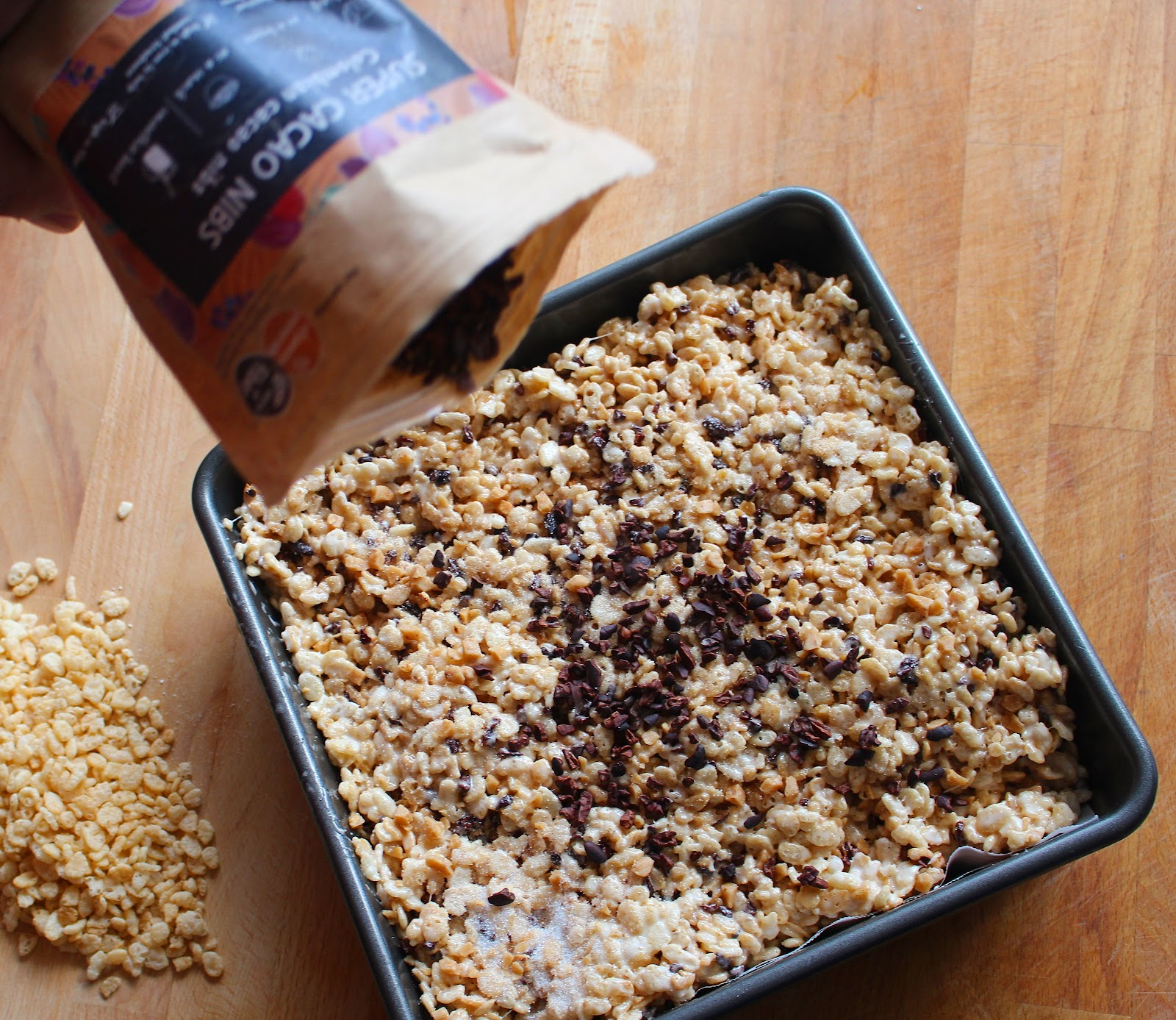 Fatgirl Hedonist: Cacao Nib Rice Krispie Treat Recipe