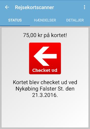 Rejsekortscanner  screenshots 3