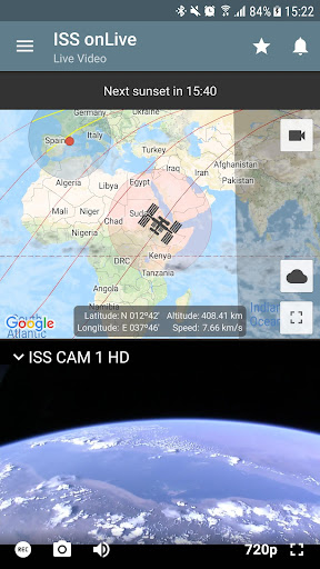 ISS onLive: HD View Earth Live  screenshots 2
