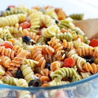 Tri Color Pasta Salad Recipes