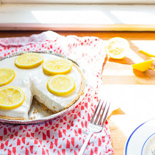 Four Ingredient Lemonade Pie