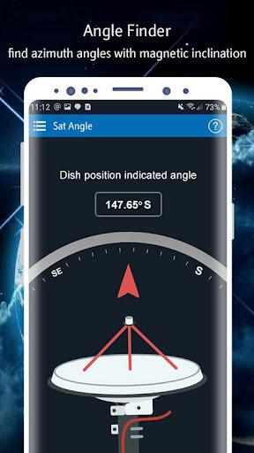Satellite Finder (Area Calculator) Dish Pointer by Apflix