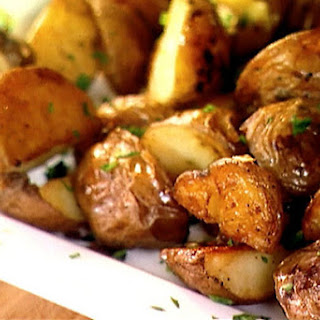 Roasted Red Potatoes and Garlic.