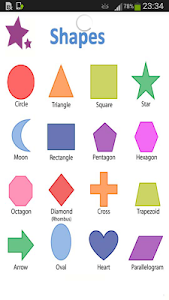 English Shapes Vocabulary screenshot 0